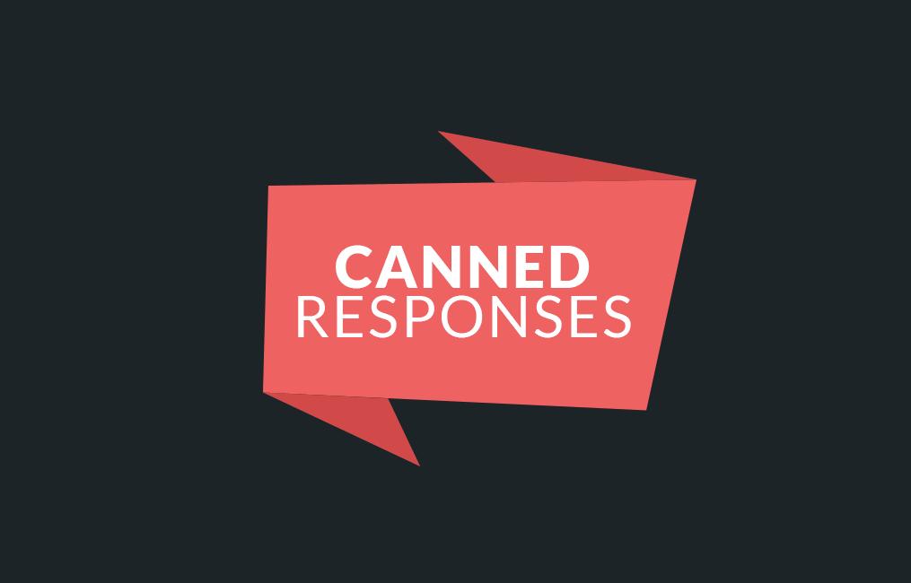 افزونه تیکت پشتیبانی Canned Response