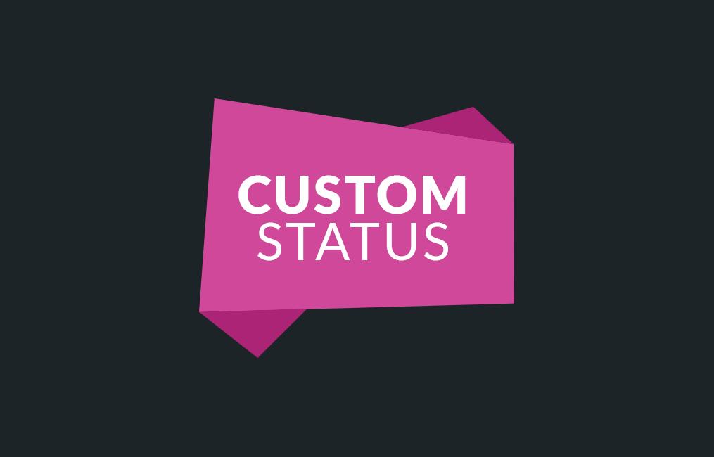 افزونه تیکت پشتیبانی Custom Status