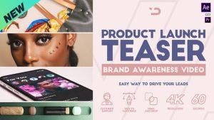 پروژه آماده تبلیغ محصول افترافکت Product Launch Teaser
