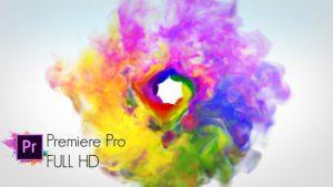 پروژه آماده لوگو دود رنگی پریمیر Colorful Smoke Logo